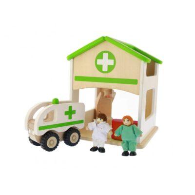 Žaislų rinkinys - Ligoninė