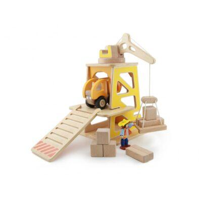 Žaislų rinkinys - Statybos