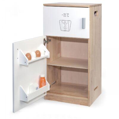 Žaislinis medinis šaldytuvas