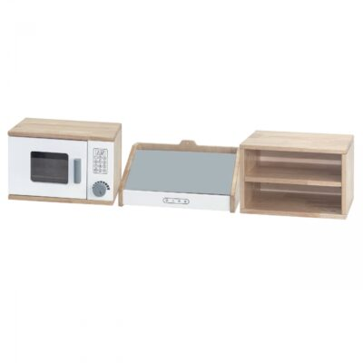Žaislinis medinis virtuvės komplektas