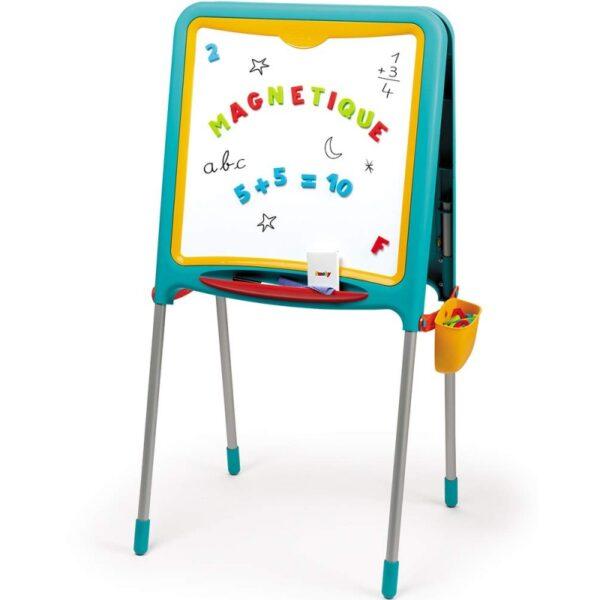 Dvipusė magnetinė lenta + raidės, skaičiai, ženklai (80 vnt.)