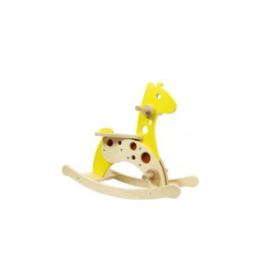 """""""Masterkidz"""" Medinė sūpuoklė - Žirafa"""