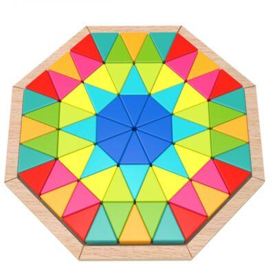 Medinis aštuonkampis galvosūkis (73 vnt.)
