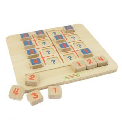 """Masterkidz"" mokomoji lenta – Mini sudoku"