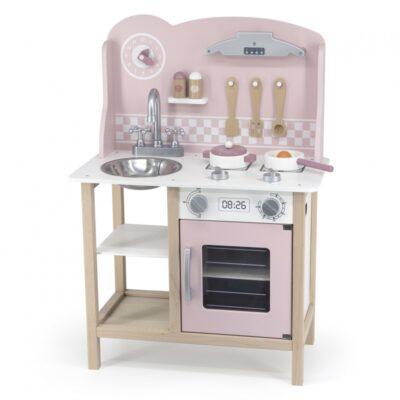 Žaislinė medinė virtuvė