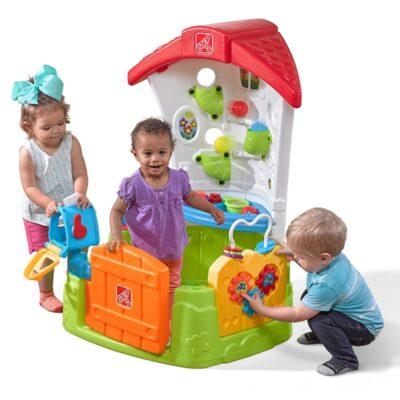 Centrum aktywności ruchowej Step2 ogródek zabaw-1