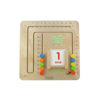 Tablica Gra Edukacyjna Łączenie Liczb Dodawanie Masterkidz-1