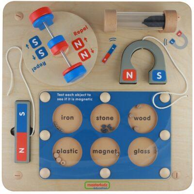 Nauka o Przyciąganiu Magnetycznym - Tablica Edukacyjna Masterkidz-1