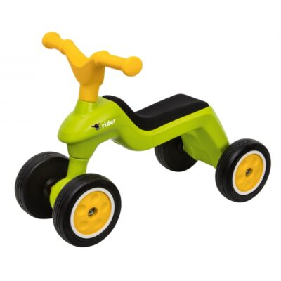 Big Jeździk Rowerek Biegowy Ciche Koła Runbike Zielony-1