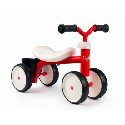 Rowerek Biegowy Dla dziecka Rookie Ride - On Czerwony-1