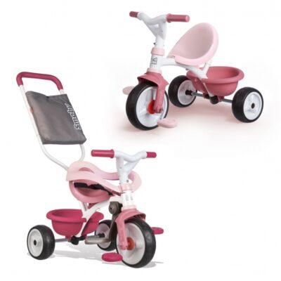 SMOBY Rowerek Trójkołowy Be Move Komfort Różowy-1